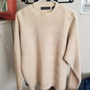 Vintage STRUCTURE Knitted Crewneck